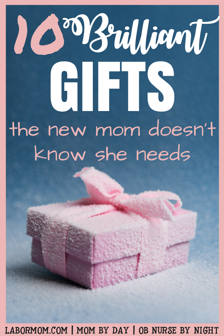 Indispensable products for new moms that they probably don't even know they need! Step away from the baby registry and click here for brilliant baby shower gifts that the new mama will thank you for! #babyshowergifts #babynecessities